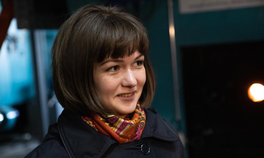 Екатерина Пушкарь.